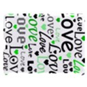 Green  Valentine s day pattern Apple iPad 3/4 Hardshell Case (Compatible with Smart Cover) View1