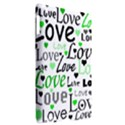 Green  Valentine s day pattern Apple iPad 3/4 Hardshell Case (Compatible with Smart Cover) View2