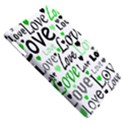Green  Valentine s day pattern Apple iPad 3/4 Hardshell Case (Compatible with Smart Cover) View5