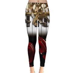 Classical Music Instruments Leggings