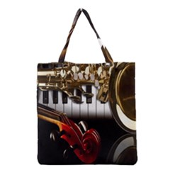 Classical Music Instruments Grocery Tote Bag