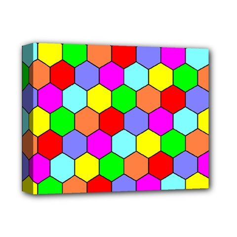 Hexagonal Tiling Deluxe Canvas 14  X 11  by AnjaniArt