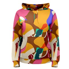 Girl Colorful Copy Women s Pullover Hoodie