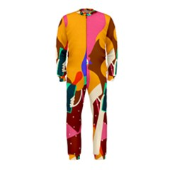 Girl Colorful Copy Onepiece Jumpsuit (kids) by AnjaniArt
