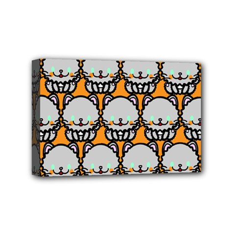Sitpersian Cat Orange Mini Canvas 6  X 4  by AnjaniArt