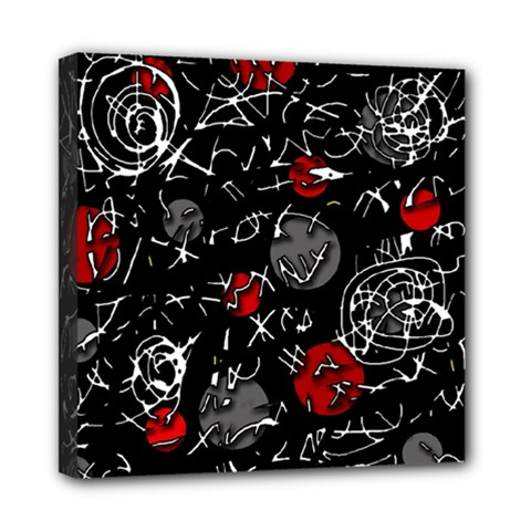 Red Mind Mini Canvas 8  X 8  by Valentinaart
