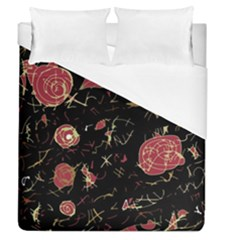 Elegant Mind Duvet Cover (queen Size) by Valentinaart