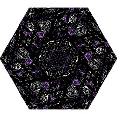 Abstract Mind   Purple Mini Folding Umbrellas by Valentinaart