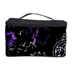 Abstract Mind   Purple Cosmetic Storage Case by Valentinaart