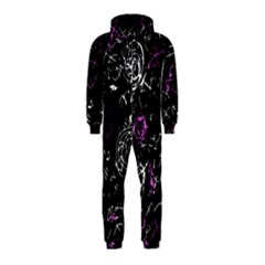 Abstract Mind   Magenta Hooded Jumpsuit (kids) by Valentinaart