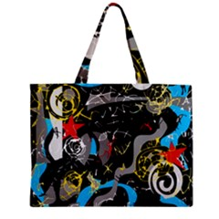 Confusion 2 Zipper Mini Tote Bag by Valentinaart