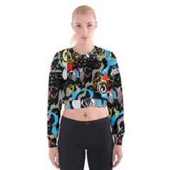 Confusion 2 Women s Cropped Sweatshirt