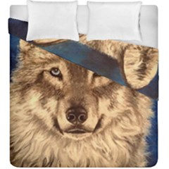 Wolf Duvet Cover Double Side (king Size)