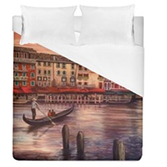 Venice Duvet Cover (queen Size) by ArtByThree