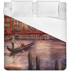 Venice Duvet Cover (king Size) by ArtByThree