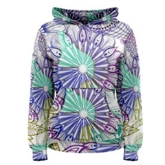 Zentangle Mix 1116a Women s Pullover Hoodie by MoreColorsinLife
