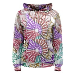 Zentangle Mix 1116b Women s Pullover Hoodie by MoreColorsinLife