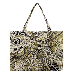 Zentangle Mix 1216a Medium Tote Bag by MoreColorsinLife