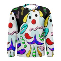 Candy Man` Men s Long Sleeve Tee by Valentinaart