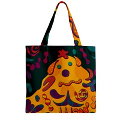 Candy Man 2 Zipper Grocery Tote Bag