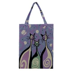 Cats Classic Tote Bag by Valentinaart