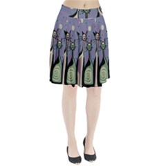 Cats Pleated Skirt