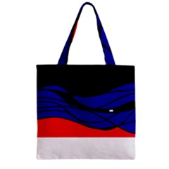 Cool Obsession  Zipper Grocery Tote Bag by Valentinaart