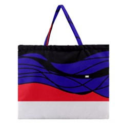 Cool Obsession  Zipper Large Tote Bag by Valentinaart