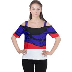 Cool Obsession  Women s Cutout Shoulder Tee