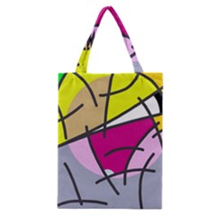 Fair Skater  Classic Tote Bag by Valentinaart