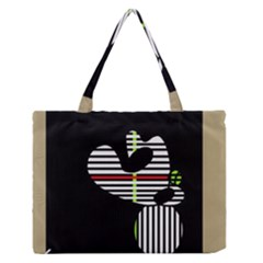 Abstract Art Medium Zipper Tote Bag by Valentinaart