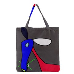 Donkey Grocery Tote Bag by Valentinaart