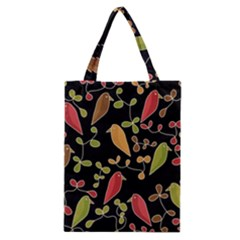 Flowers And Birds  Classic Tote Bag by Valentinaart