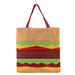 Cake Cute Burger Copy Grocery Tote Bag