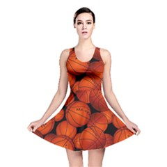 Basketball Sport Ball Champion All Star Reversible Skater Dress