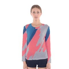 Colorful Women s Long Sleeve Tee