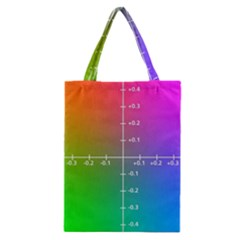 Formula Plane Rainbow Classic Tote Bag by AnjaniArt