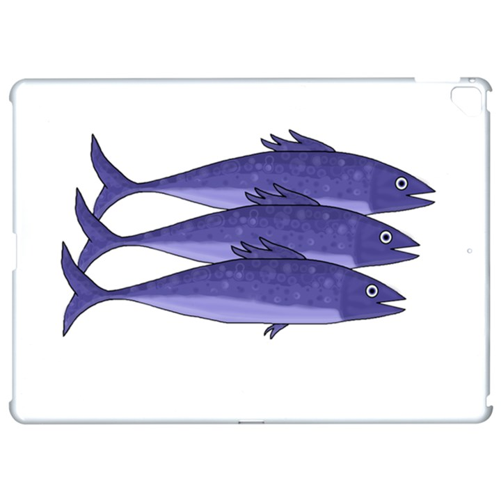 Mackerel  - purple Apple iPad Pro 12.9   Hardshell Case