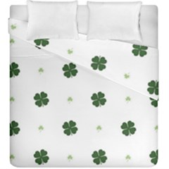 Green Leaf Duvet Cover Double Side (king Size)