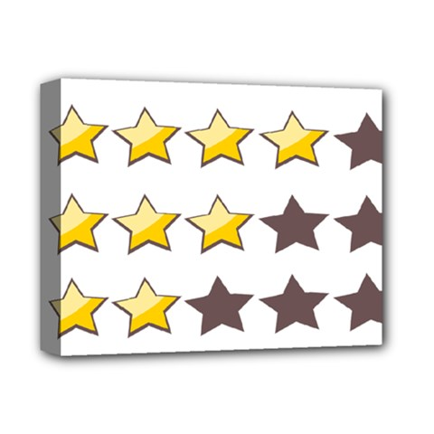 Star Rating Copy Deluxe Canvas 14  X 11