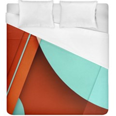 Thumb Lollipop Wallpaper Duvet Cover (king Size)