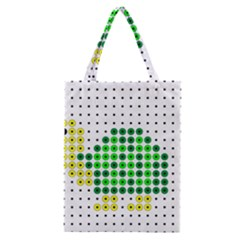 Colored Turtle Classic Tote Bag