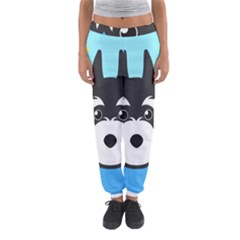 Face Dog Women s Jogger Sweatpants by AnjaniArt