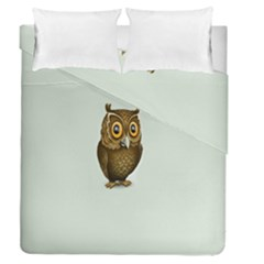 Owl Duvet Cover Double Side (queen Size)