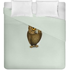 Owl Duvet Cover Double Side (king Size)
