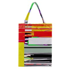 Lines And Squares  Classic Tote Bag by Valentinaart