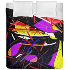 Revolution Duvet Cover Double Side (california King Size) by Valentinaart