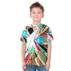 Colorful Big Bang Kids  Cotton Tee