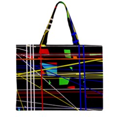 No Limit Zipper Mini Tote Bag by Valentinaart