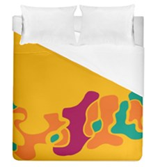 Colorful Creativity Duvet Cover (queen Size)